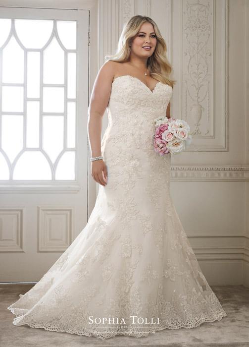 Plus Size Wedding Dresses - Stepn Out Bridal Prom